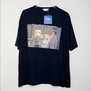 """NWT Zara """"Friend's"""" Thanksgiving Shirt"""